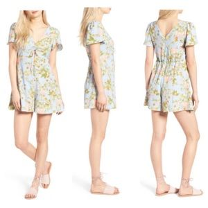 Leith Front Key Hole Cut Romper
